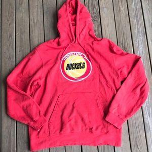 Houston Rockets sweatshirt hoodie L red NBA